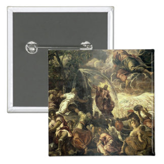 Moses Striking Water from the Rock, 1575 Pinback Button