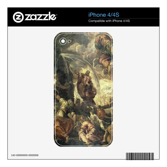 Moses Striking Water from the Rock, 1575 Skin For iPhone 4S