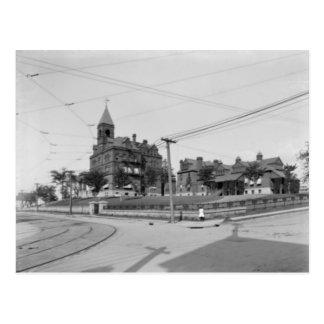 Moses Taylor Hospital Scranton Pa. Postcard