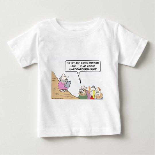 Moses, Ten Commandments, and Multiculturalism Baby T-Shirt