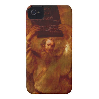 Moses & The 10 Commandments iPhone 4 Case-Mate Case