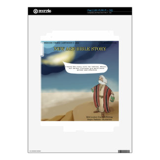 Moses & The 10 Herbal Tinctures Funny Decal For The iPad 2