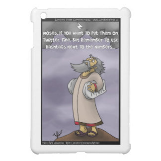 Moses & The 10 Twitter Hashtags Funny Gifts &  iPad Mini Cases