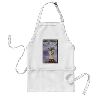 Moses & The 10 Twitter Hashtags Funny Gifts & Tees Adult Apron