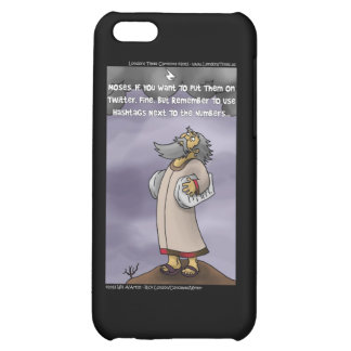 Moses & The 10 Twitter Hashtags Funny Cover For iPhone 5C