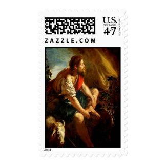 Moses & the burning bush - Postage