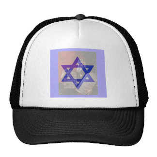 Moses, the Tablets and the Star of David. Trucker Hat
