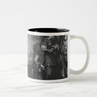 Moses trajo a la hija de Pharoah, c.1752 Tazas De Café