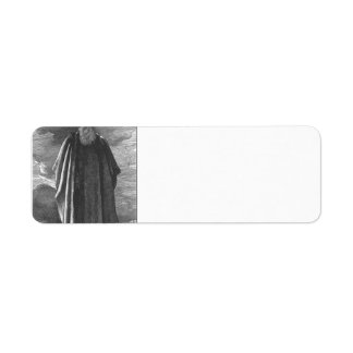 Moses ve la tierra prometida de Federico Leighton Etiquetas De Remite