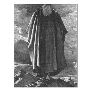 Moses ve la tierra prometida de Federico Leighton Tarjeta Postal