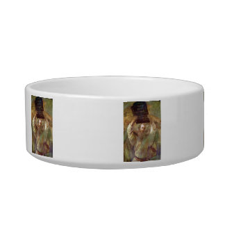 Moses with the commandments by Rembrandt Cat Food Bowls