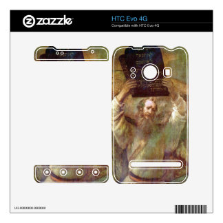 Moses with the commandments by Rembrandt Skin For HTC Evo 4G