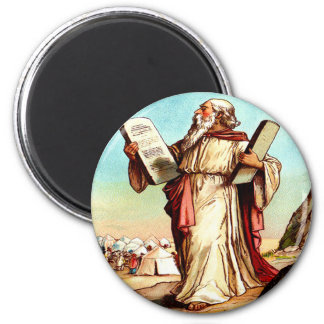 Moses with the tables of the law Magnet