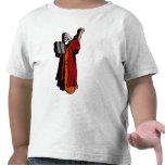 Moses y diez mandamientos camisetas