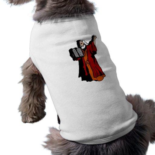 Moses y diez mandamientos prenda mascota