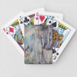 Moses y la zarza ardiente baraja cartas de poker