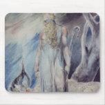 Moses y la zarza ardiente mouse pad