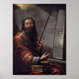 Moses y las tabletas de la ley poster