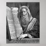 """""""Moses y los diez mandamientos"""" imprimen/poster"""