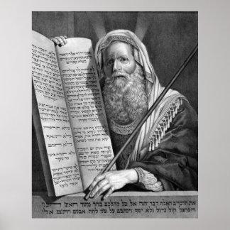 """""""Moses y los diez mandamientos"""" imprimen/poster Póster"""