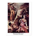 Moses y tabletas de la ley de Domingo Beccafumi Postales