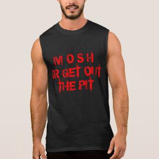 Mosh el tanque del concierto playera sin mangas