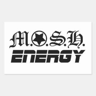 MOSH ENERGY Bumper Sticker