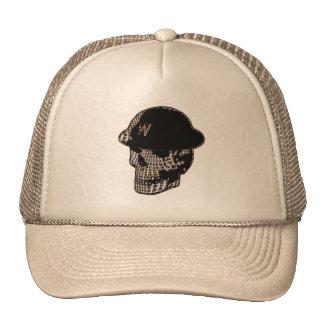 Mosh Mesh Skull Trucker Hat