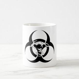 Mosh Pit Biohazard Skull and Birds Mug