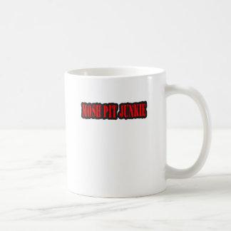 MOSH PIT JUNKIE punk rock Coffee Mug