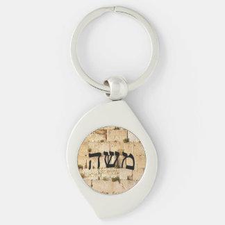 Moshe (Moses) Keychain