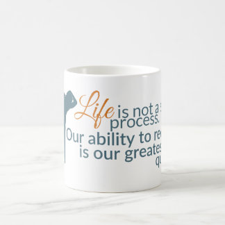 Moshe Speaks: Life Not Stable Process Mugs