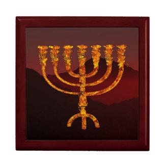 Moshe's Menorah Jewelry Box