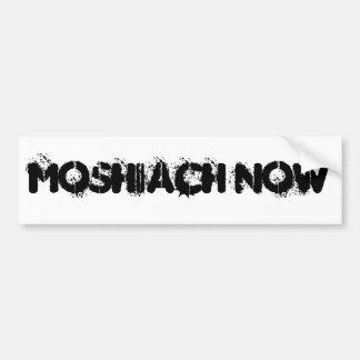 MOSHIACH AHORA PEGATINA PARA AUTO