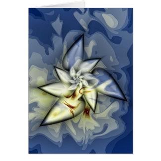 Mosiac místico tarjeta de felicitación