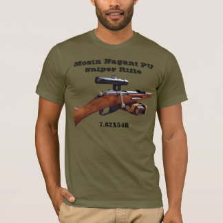 Mosin Nagant ww2 PU Sniper Shirt