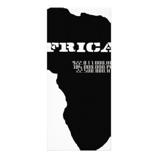 Moskitu Africa Rack Cards