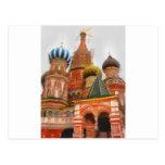 Moskva Tarjeta Postal