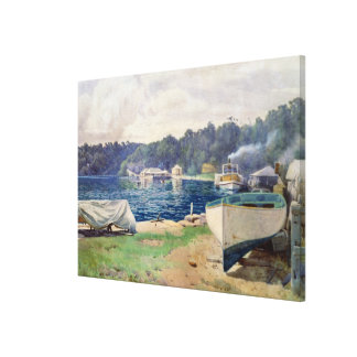 Mosman's Bay, Sydney Canvas Print