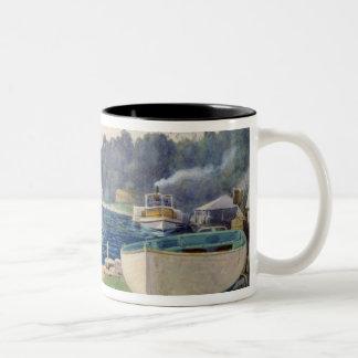 Mosman's Bay, Sydney Two-Tone Coffee Mug