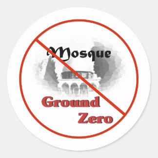 mosque #2 classic round sticker