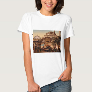 Mosque and street, Scutari, Constantinople, Turkey T-Shirt