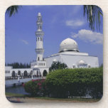 Mosque and tower, Singapore Beverage Coasters