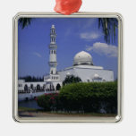 Mosque and tower, Singapore Christmas Ornaments