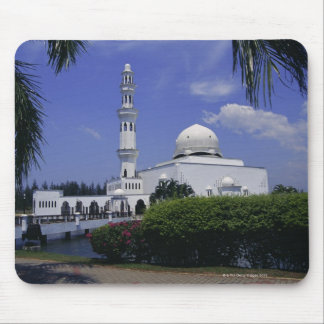 Mosque and tower, Singapore Mouse Pad