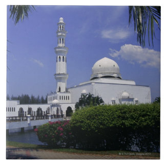 Mosque and tower, Singapore Tile
