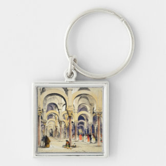 Mosque at Cordoba, from 'Sketches of Spain', engra Key Chain