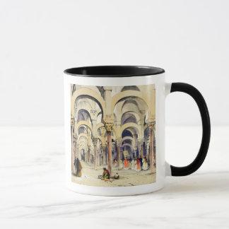 Mosque at Cordoba, from 'Sketches of Spain', engra Mug