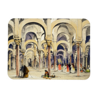 Mosque at Cordoba, from 'Sketches of Spain', engra Rectangular Magnets