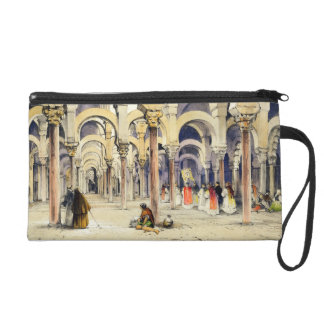 Mosque at Cordoba, from 'Sketches of Spain', engra Wristlet Purse